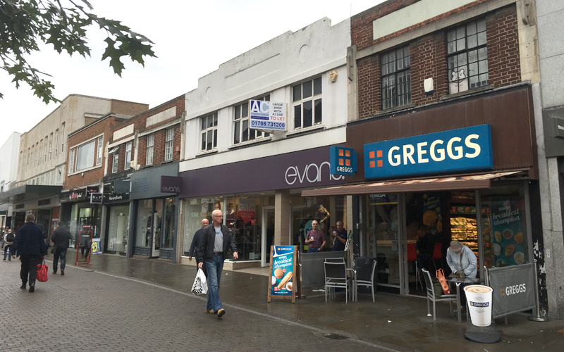 Prime South Street Romford Freehold Commercial Property deal with Andrew Caplin Commercial